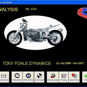 FFE software opening screen