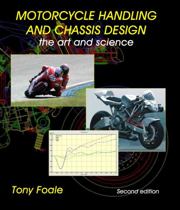 Picture showing the front cover of Motorcycle Handling and Chassis Design
